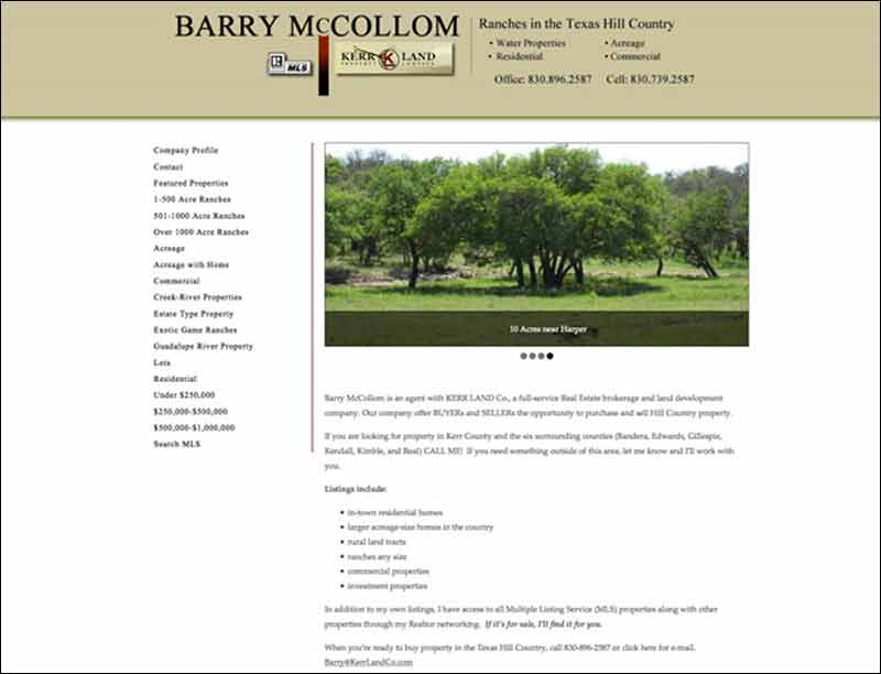 Barry McCollom Real Estate