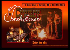 Cowboy Steak House, Kerrville, TX