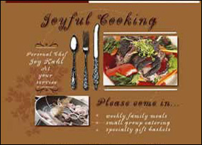Joyful Cooking, Kerrville, TX
