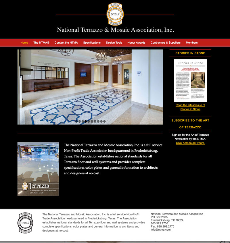 National Terrazzo & Mosaic Association, Fredericksburg, TX